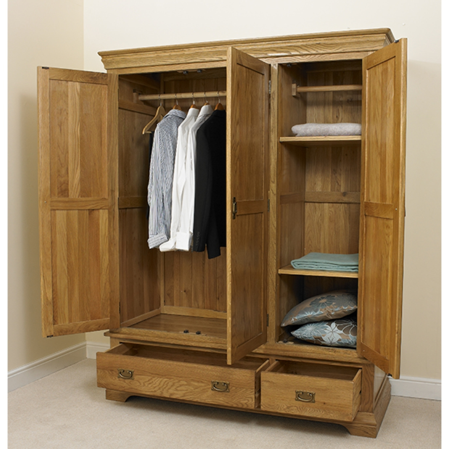 Image of: Drawer Wooden Armoire