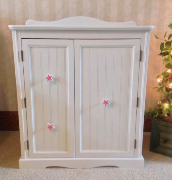 Picture of: Easy American Girl Armoire