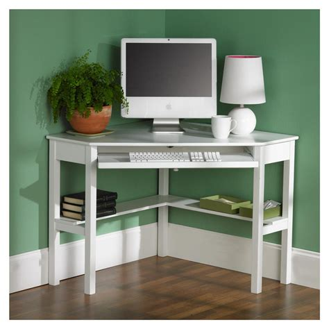 Picture of: Easy Corner Armoire Computer Desk