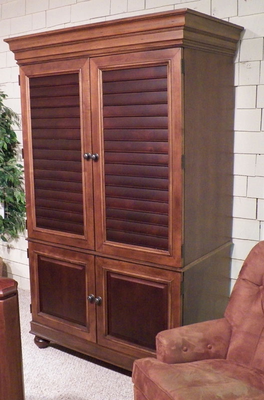 Picture of: Entertainment Hooker Armoire