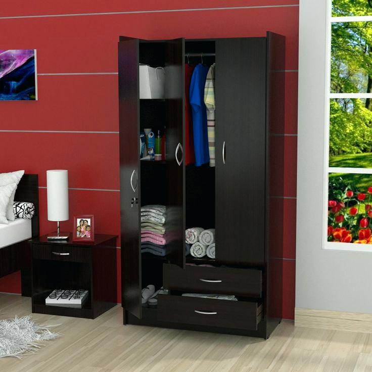 Picture of: Espresso Armoire Custom