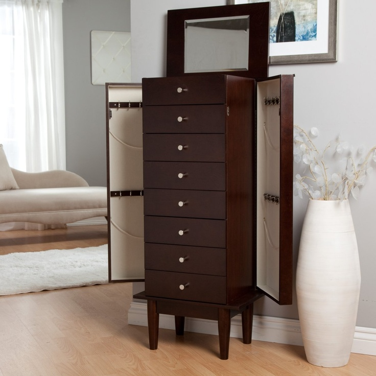 Picture of: Espresso Armoire Set