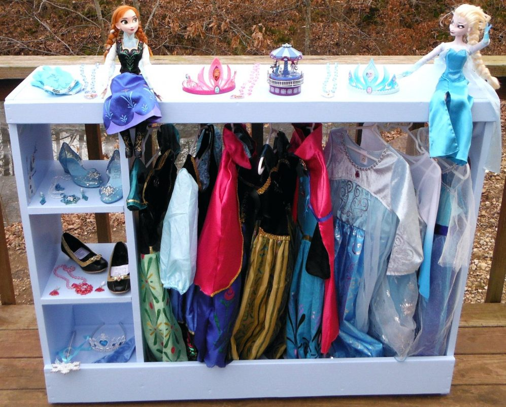Picture of: Girls Dress Up Armoire
