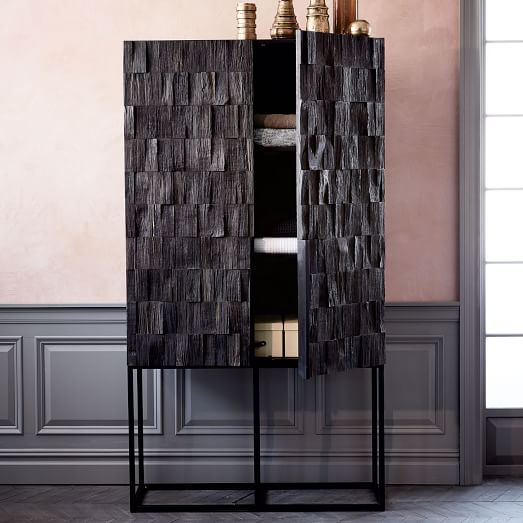 Image of: Gotham West Elm Armoire