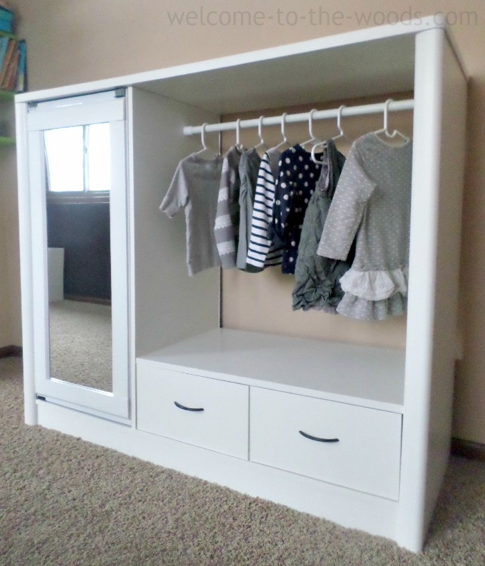 Image of: Great Children's Armoire Wardrobe