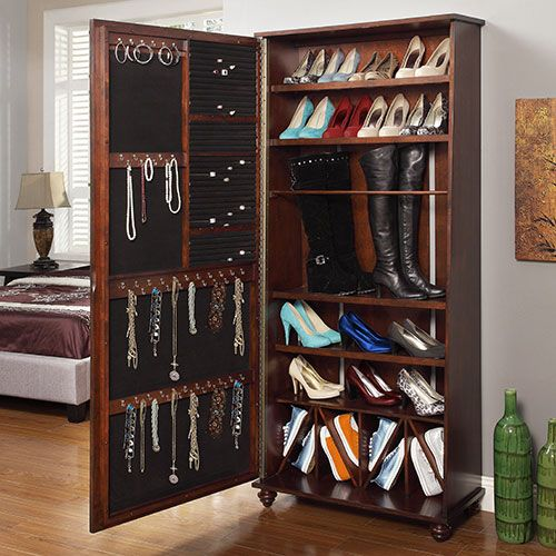 Image of: Great Shoe Armoire