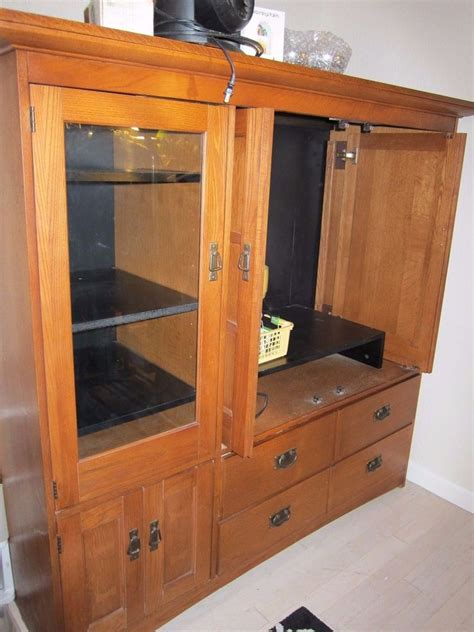 Image of: Great TV Armoire Cabinet