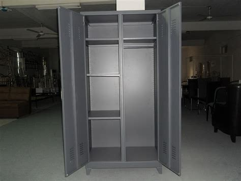 Picture of: Grey Armoire Wardrobe Closet