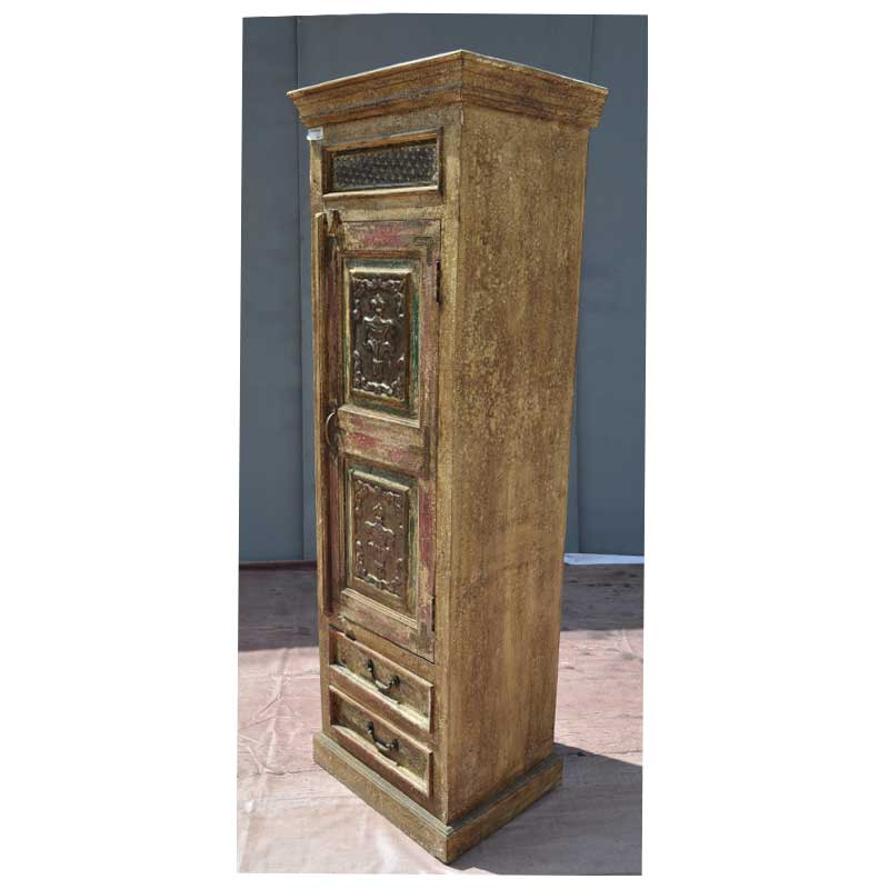 Image of: Height Distressed Armoire