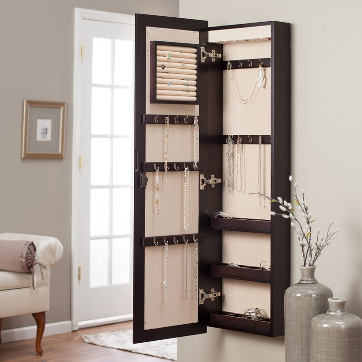 Picture of: High Hanging Jewelry Armoire