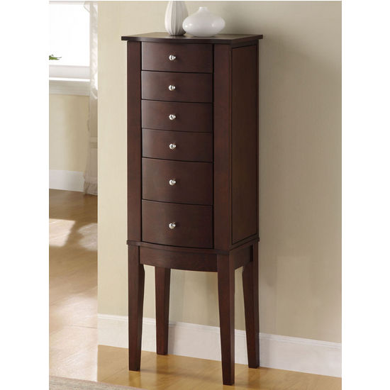 Picture of: High Powell Jewelry Armoire