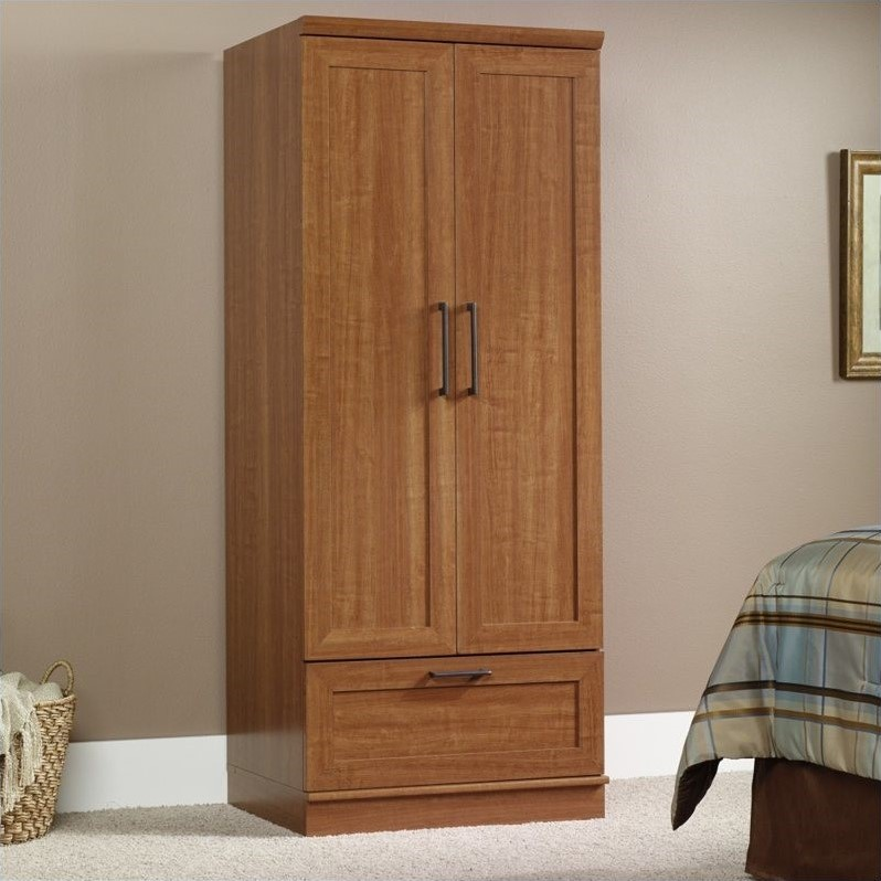 Image of: High Sauder Armoire