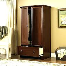 Picture of: High Wood Armoire Wardrobe