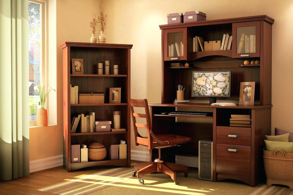Image of: Hooker Computer Cabinet Armoire Desk