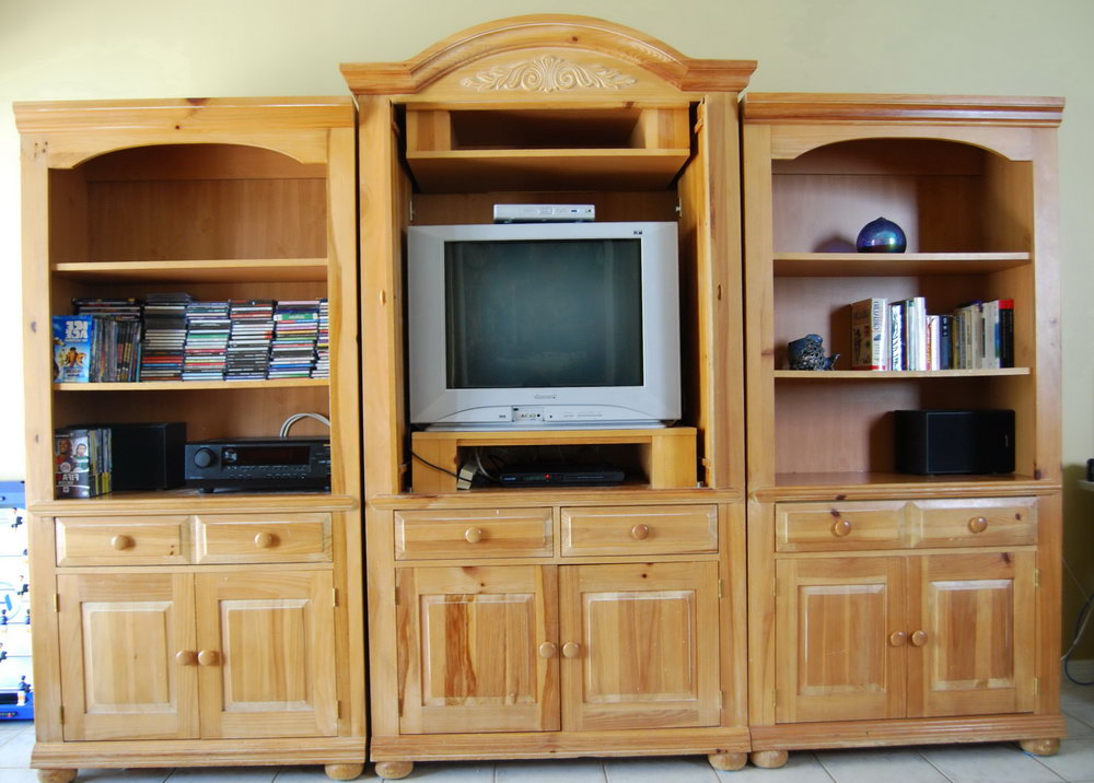Image of: Image Armoire Entertainment Center