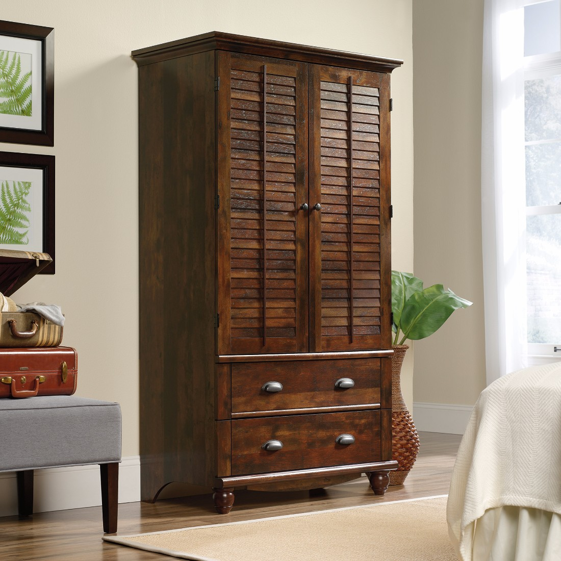 Image of: Image Sauder Armoire