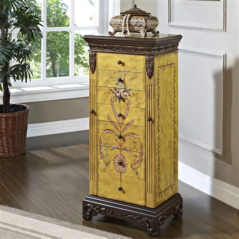 Innovative Antique Jewelry Armoire