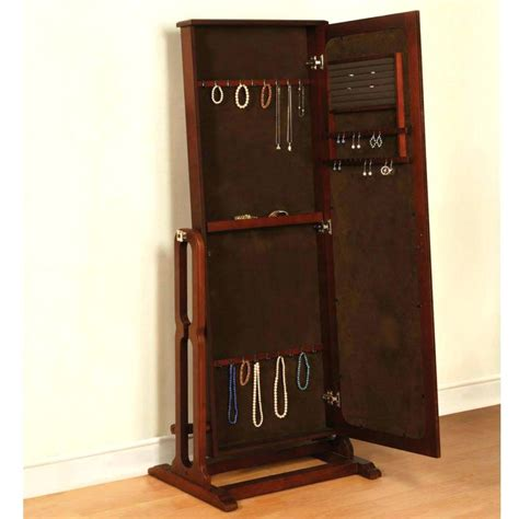 Innovative Cherry Jewelry Armoire
