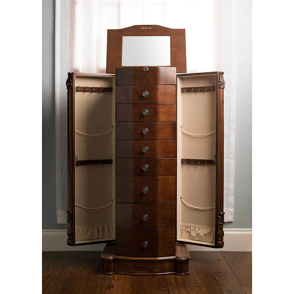 Image of: Innovative Jewelry Chest Armoire