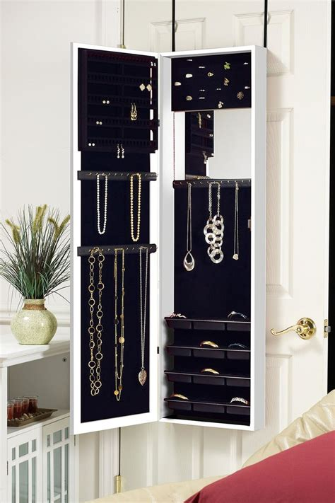 Image of: Innovative Mirror Jewelry Armoire