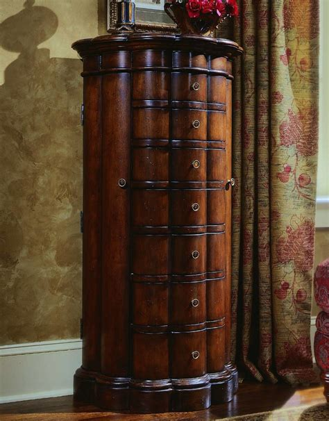 Image of: Innovative Rustic Jewelry Armoire