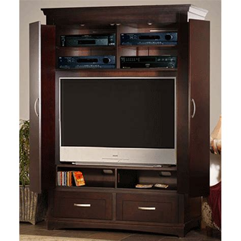 Image of: Interest Armoire Entertainment Center