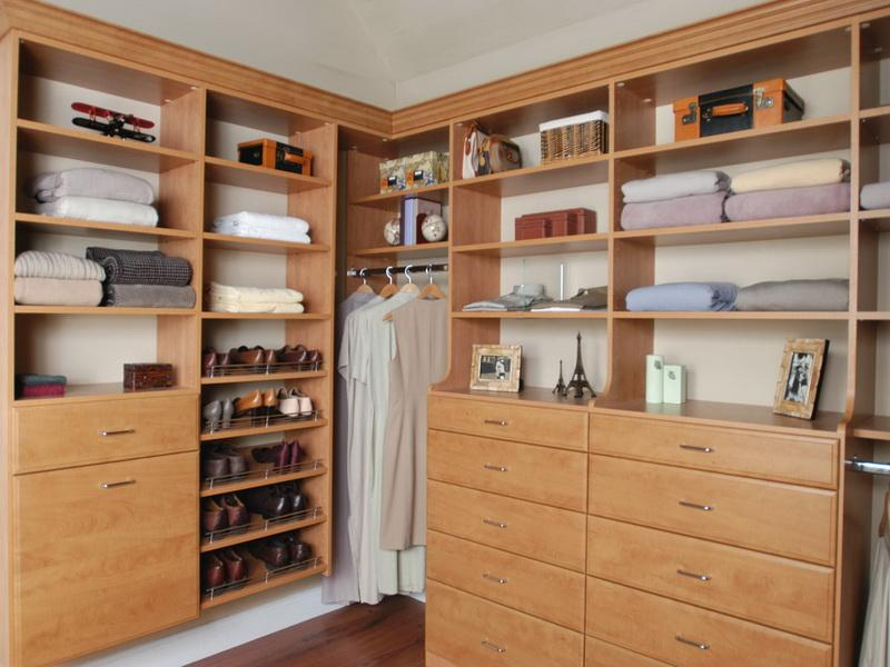 Picture of: Interest Armoire with Drawers and Shelves