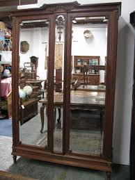 Image of: Interest Armoire with Mirror Door