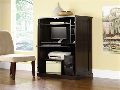 Image of: Interest Computer Armoire Ikea