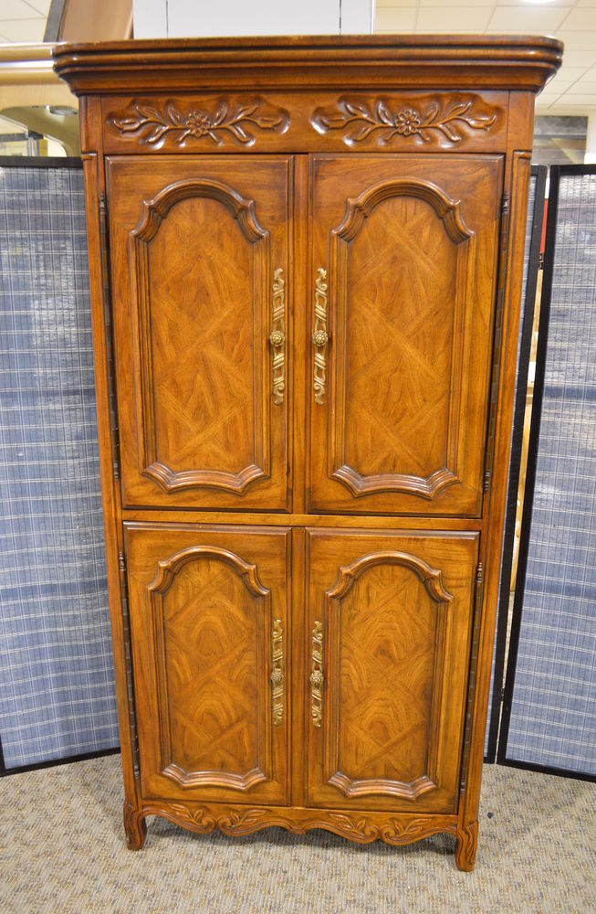 Image of: Interest French Country Armoire