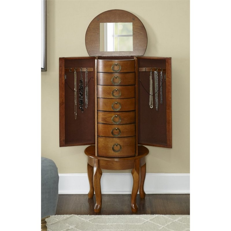 Picture of: Interest Powell Jewelry Armoire