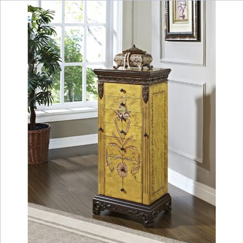 Interest Standing Jewelry Armoire