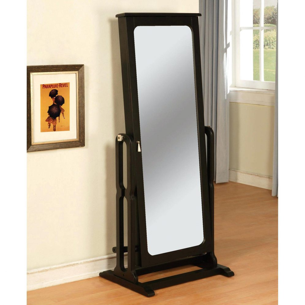 Image of: Interest Standing Mirror Jewelry Armoire