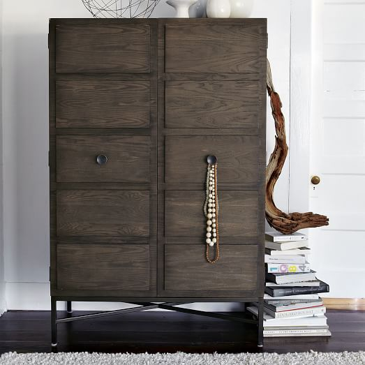 Image of: Interest West Elm Armoire