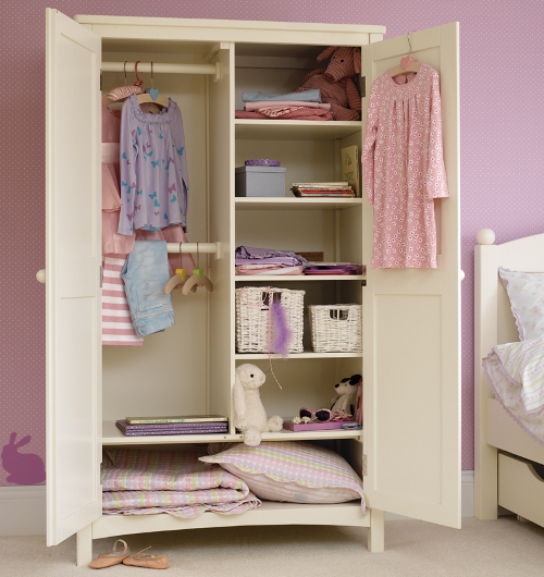 Image of: Large Children's Armoire Wardrobe