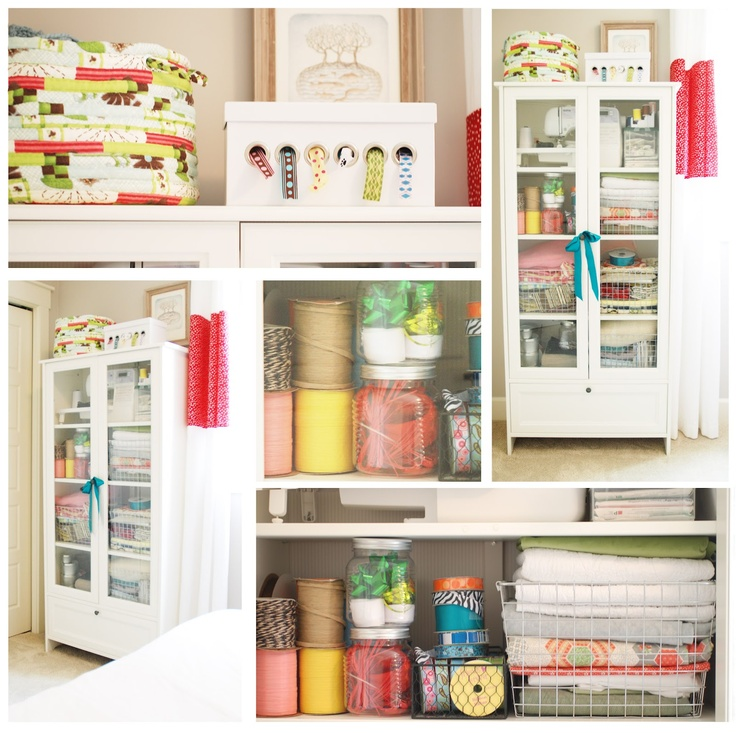 Image of: Large Craft Storage Armoire