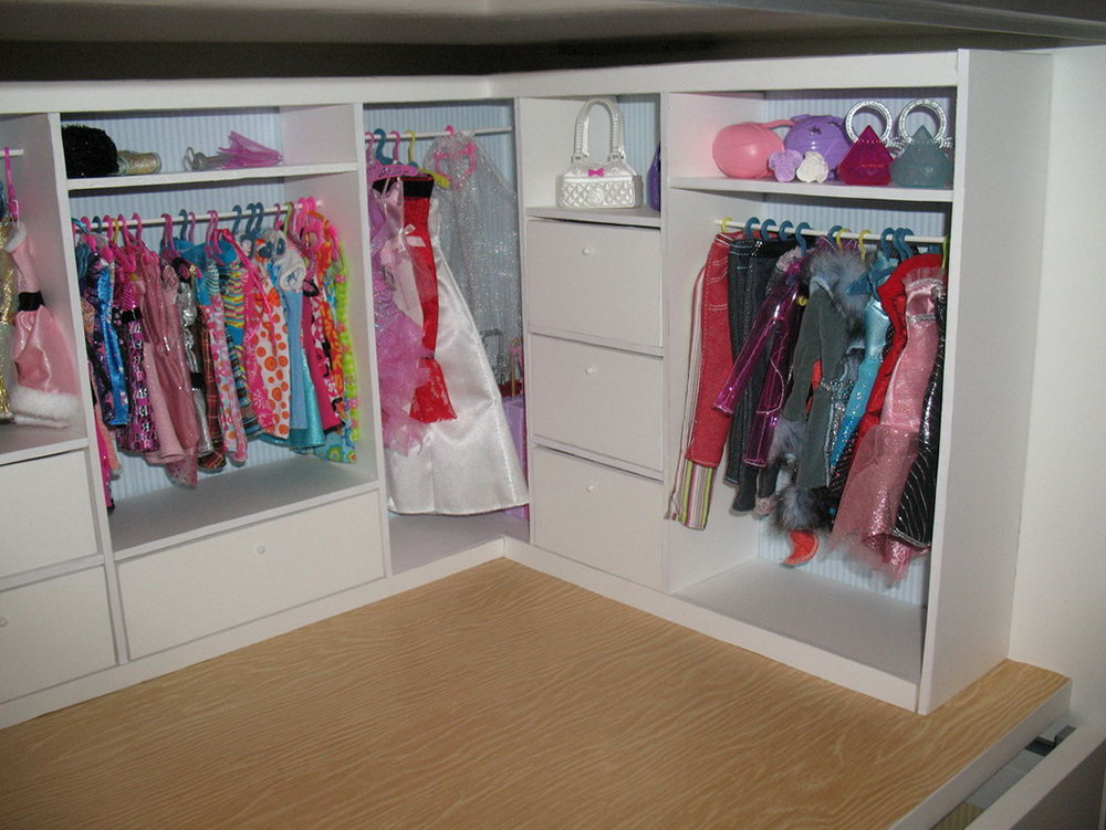 Large Dress Up Armoire