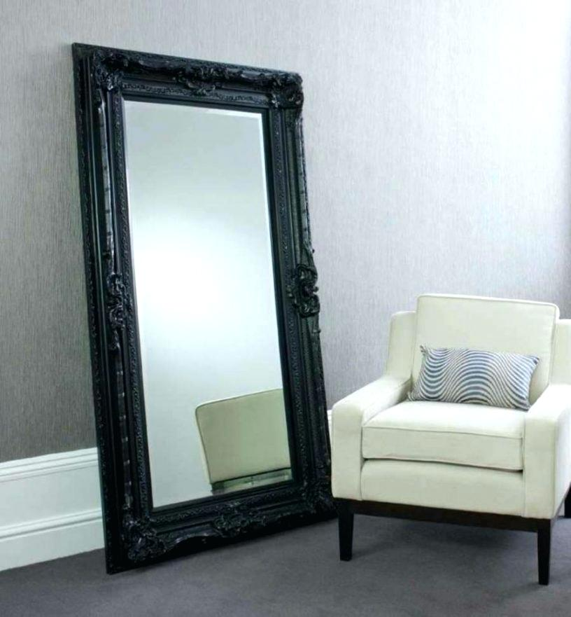 Picture of: Large Floor Mirror Jewelry Armoire