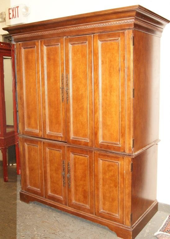 Picture of: Large Hooker Armoire