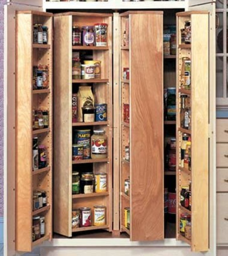 Picture of: Large Pantry Armoire