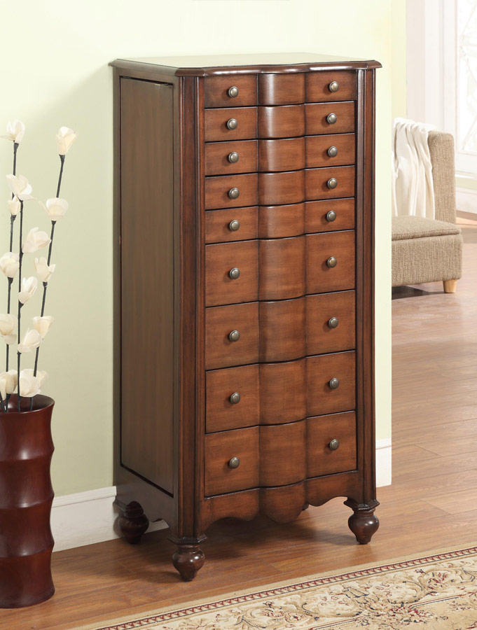 Picture of: Large Powell Jewelry Armoire