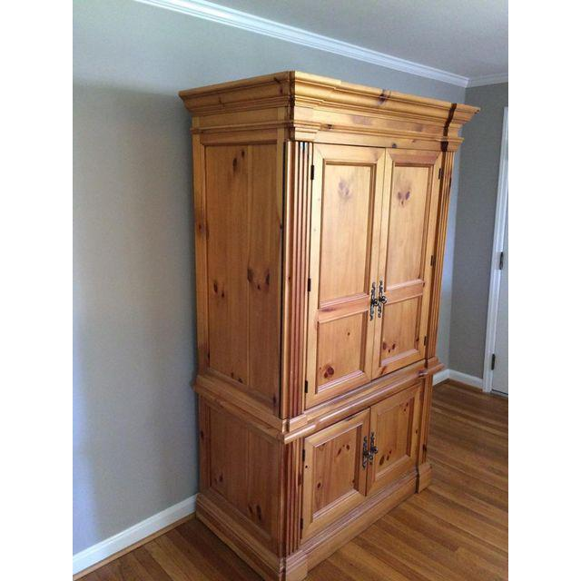 Image of: Large Solid Wood Armoire