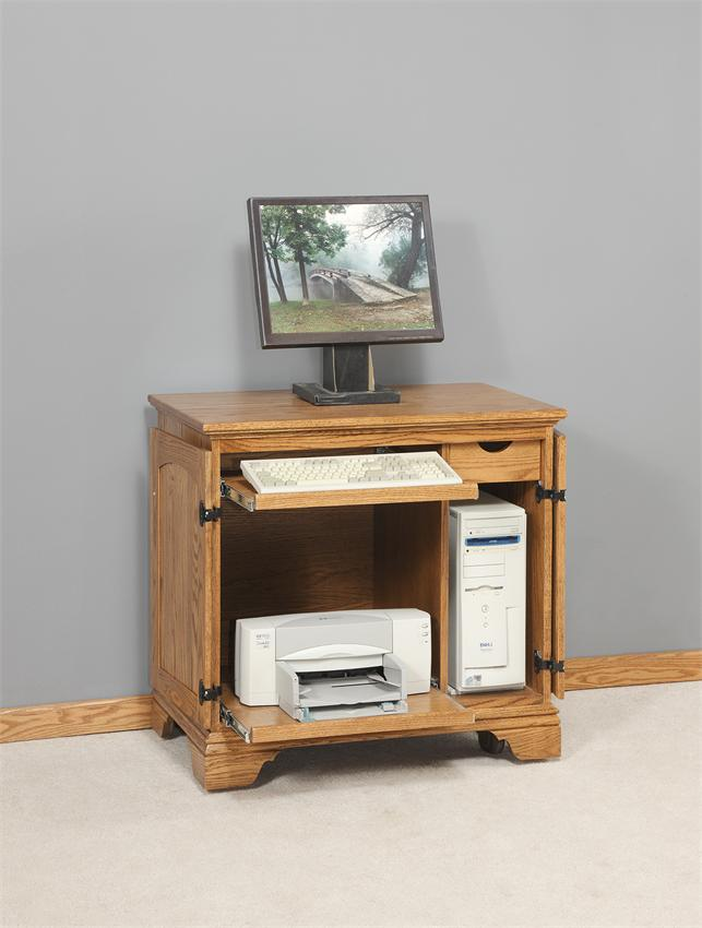 Picture of: Little Small Computer Armoire