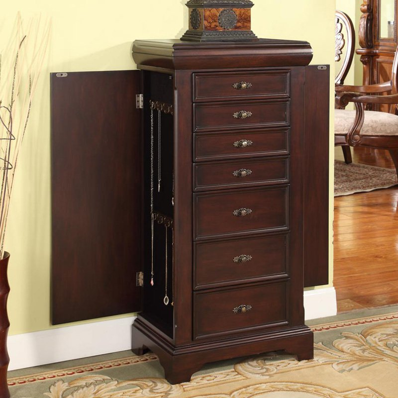 Picture of: Master Locking Jewelry Armoire