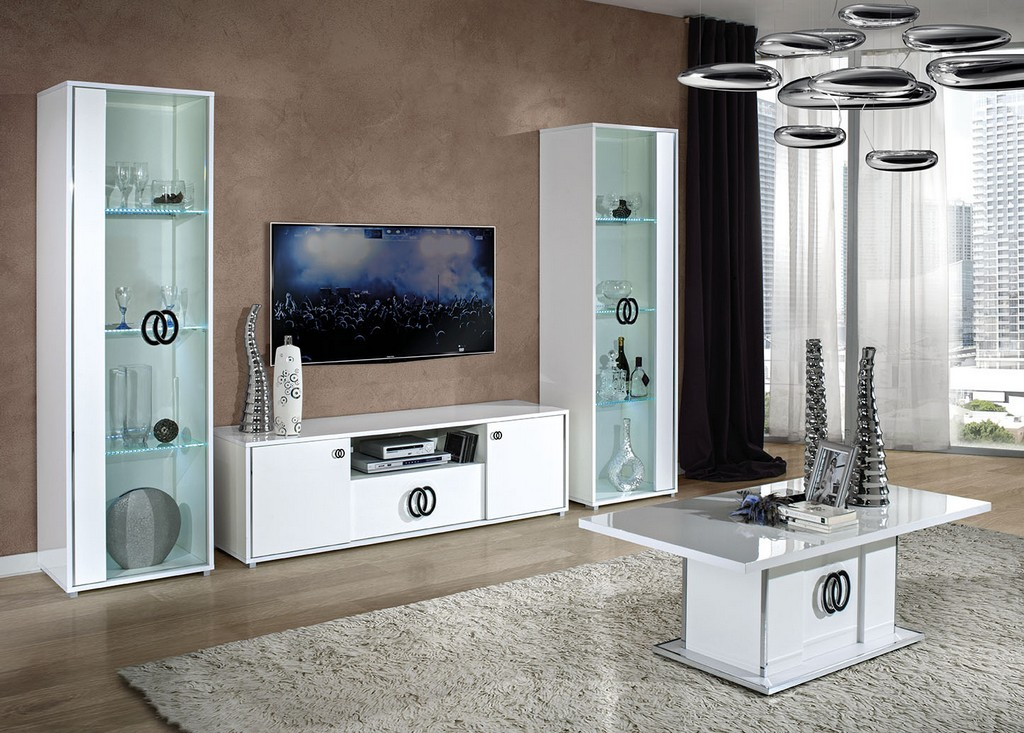 Image of: Modern Armoire Entertainment Center