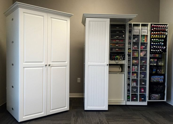 Image of: Modern Craft Armoire