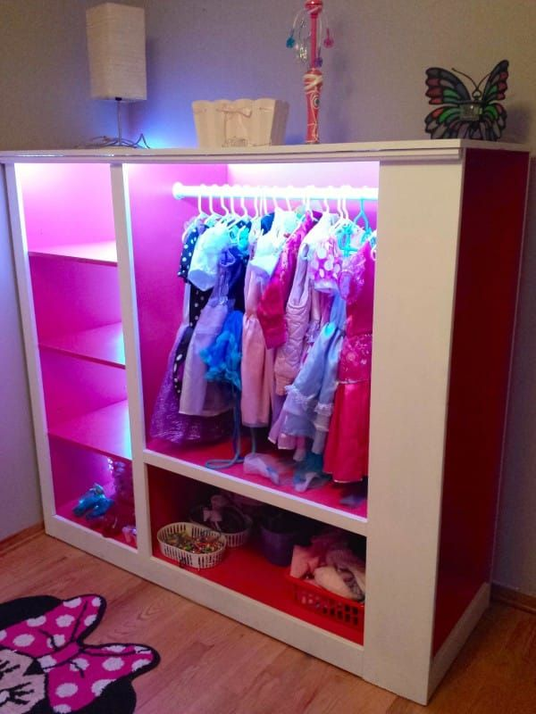 Picture of: Modern Dress Up Armoire