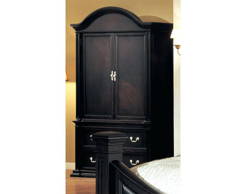 Picture of: Modern Espresso Armoire