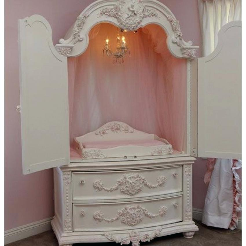 Picture of: Modern Nursery Armoire