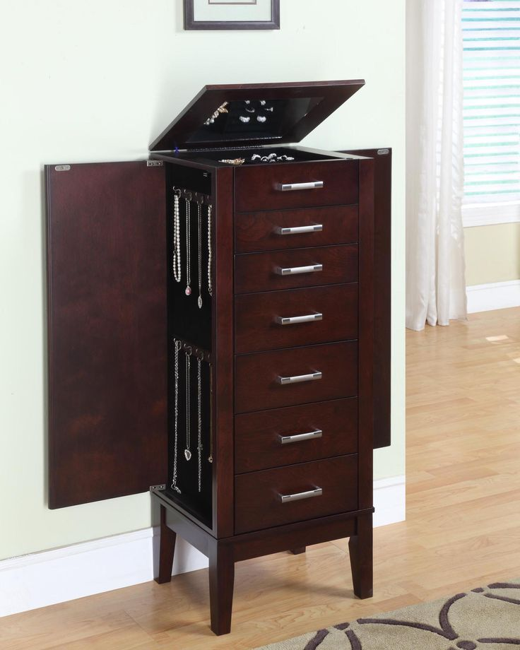 Picture of: Modern Powell Jewelry Armoire